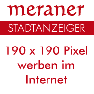 Meraner Stadtanzeiger Online-Werbung